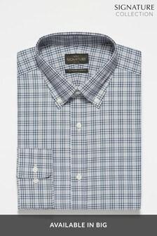 Stone Signature Check Slim Fit Shirt
