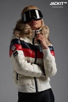 JACK1T Retro Racer Polar Down Jacket