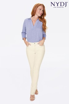NYDJ Sheri Slim Coloured Jeans