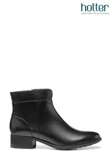 Hotter Hamilton Zip Fastening Ankle Boots