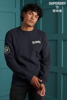 Superdry Reworked Classics Appliquée Sweatshirt