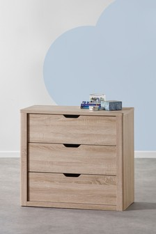 Oak Effect Compton Chest of Drawers