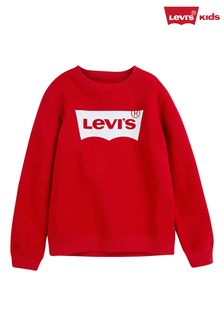 Levi's® Kids Red Batwing Sweater