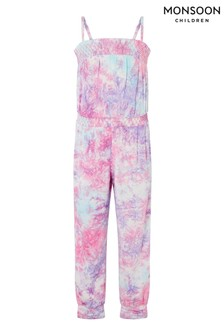 Monsoon Tie Dye Jumpsuit
