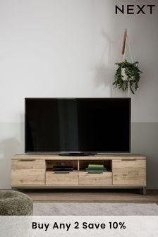 Light Oak Effect Bronx Superwide TV Stand