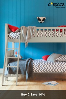 Taupe Aspace Charterhouse Bunk Bed