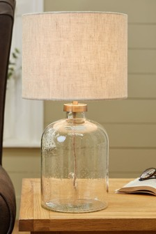 Clear Brompton Table Lamp
