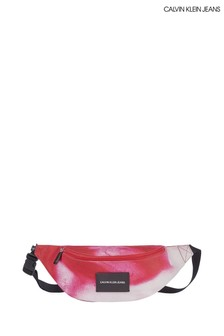 Calvin Klein Jeans Pink Marble Waistbag