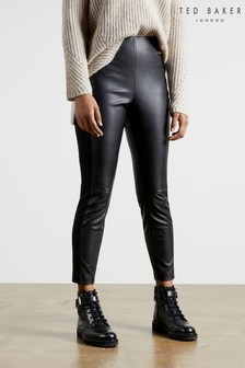 Ted Baker Vllada Faux Leather Legging Trousers