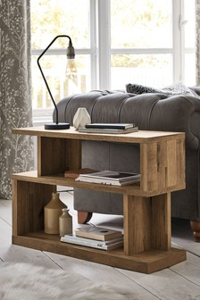 Oak Effect Bronx Sofa Side Table
