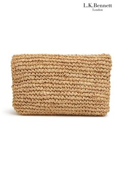 L.K.Bennett Natural Danika Clutch Bag