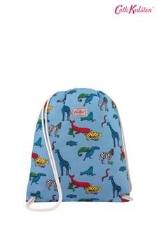Cath Kidston Kids Grey Animals Drawstring Bag