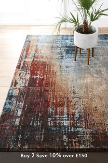 Bronx Salvage Abstract Rug