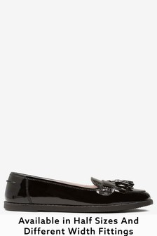 Girls Wide Fit Shoes | T-Bar \u0026 Loafers
