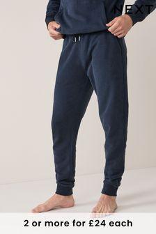 Navy Blue Cuffed Joggers Loungewear