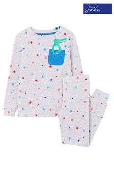 Joules Grey Kipwell Pyjama Set