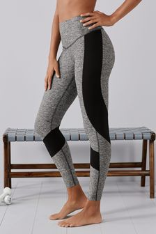 Grey High Waisted Full Length Sculpting Leggings