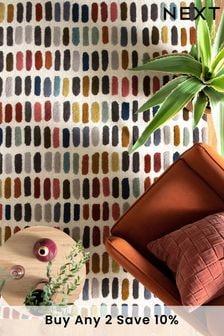 Multicoloured Sketch Rug