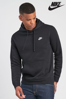 Black  Nike Club Hoody