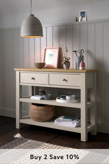 Cream Malvern Storage Console