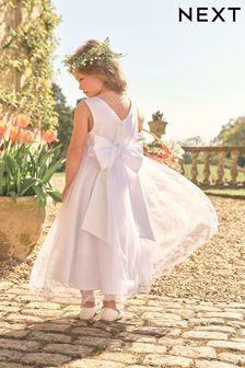 Ecru Bridesmaid Dress (3mths-16yrs)