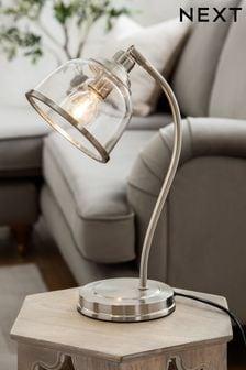 Brushed Chrome Gloucester Brushed Chrome Desk Lamp