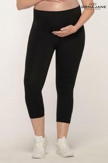 Lorna Jane Black Maternity 7/8 Leggings