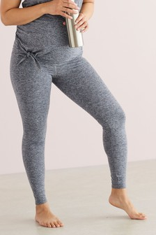 Grey Maternity Sports Leggings