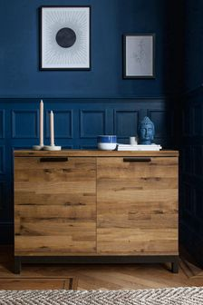 Oak Effect Bronx Sideboard