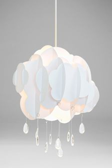 White Easy Fit Cloud Shade