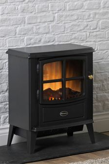 Black Brayford Electric Stove By Dimplex