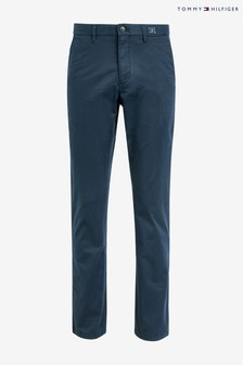Tommy Hilfiger Navy Denton Twill Chino