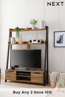 Bronx Storage TV Ladder Shelf