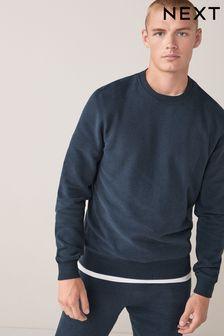Navy Crew Neck Sweater Loungewear