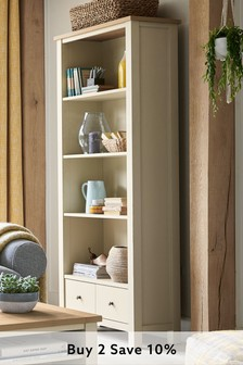 Cream Malvern Bookcase