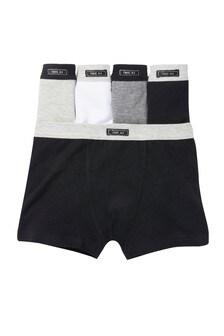 Grey 5 Pack Trunks (2-16yrs)