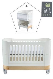 White/Natural Gaia Serena Complete Sleep And Co-Sleep By Gaia Baby