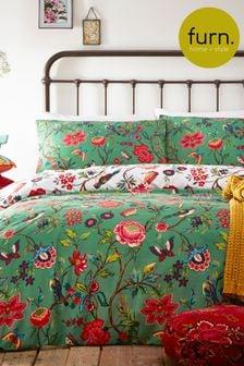 Furn Multi Pomelo Duvet Cover and Pillowcase Set