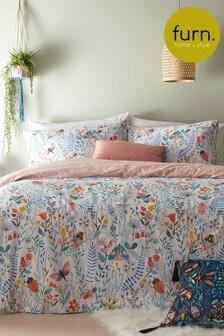 Furn Blush Mini Nature Duvet Cover and Pillowcase Set