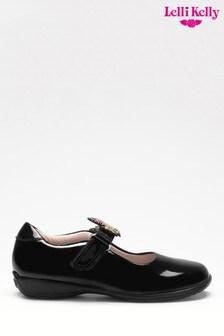 Lelli Kelly Patent Unicorn Shoes