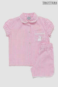 Trotters London Pink Alexandra Pyjamas
