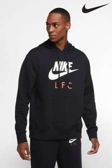Nike Black Liverpool Club Hoody