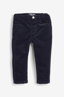 Navy Cord Trousers (3mths-7yrs)