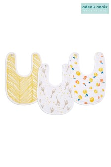aden + anais Essentials Starry Star Snap Bibs Three Pack