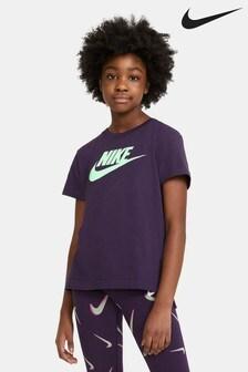 Nike Purple Futura T-Shirt