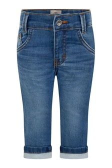Baby Boys Blue Stone Washed Jeans