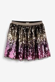 Multi Sequin Skirt (3-16yrs)