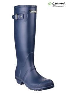 Cotswold Blue Sandringham Wellington Boots
