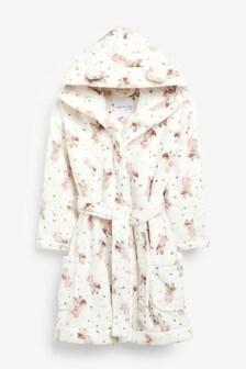 Ecru Fairy Print Robe (9mths-8yrs)