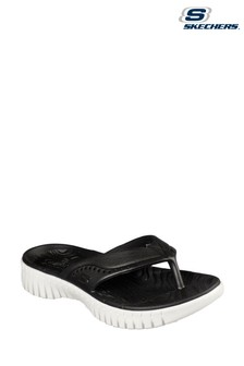 Skechers® Black Go Walk Smart Mahalo Sandals
